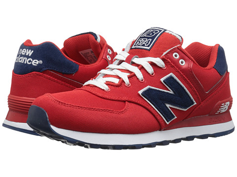 New Balance - WL574 (Velocity Red) Women
