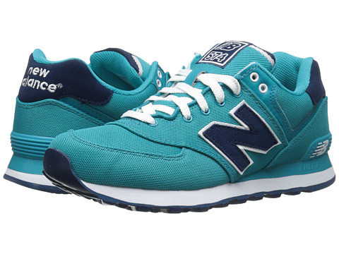 New Balance Classics - WL574 (Aquamarine) Women's Lace up casual Shoes