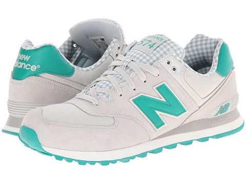 New Balance Classics - ML574 (Picnic - Grey/Green) Men's Shoes