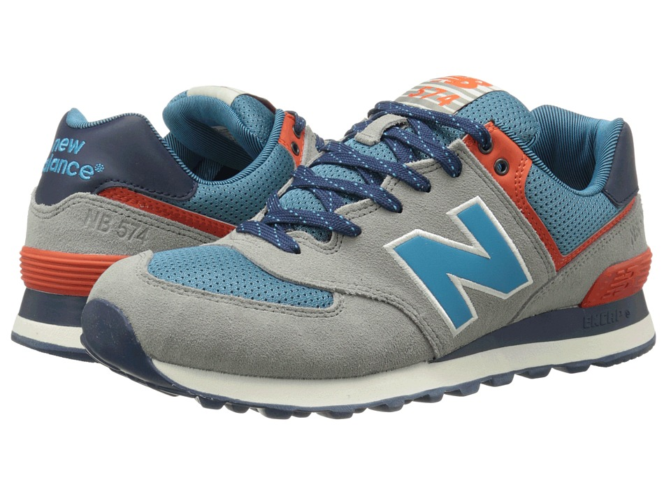 New Balance - ML574 (Tan/Blue) Men
