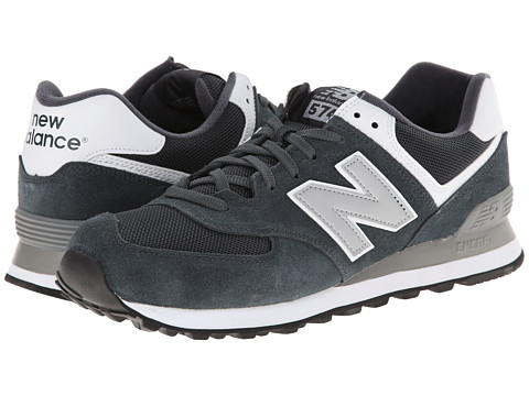 New Balance - ML574 (Varsity Grey/Silver) Men