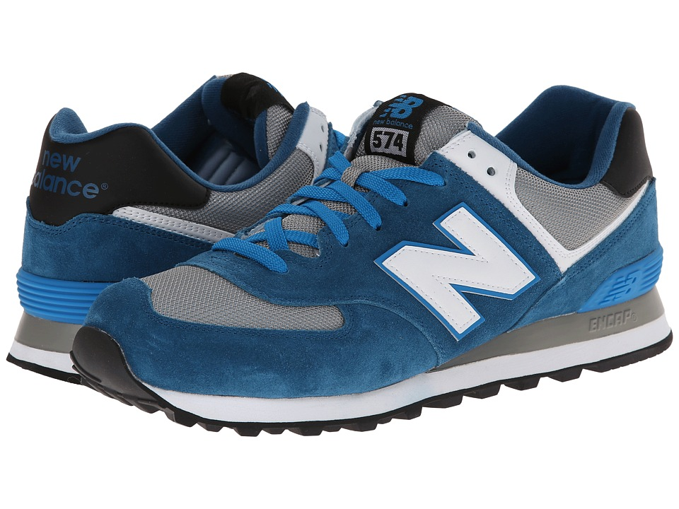 New Balance Classics - ML574 (Core Plus - Blue/Grey) Men