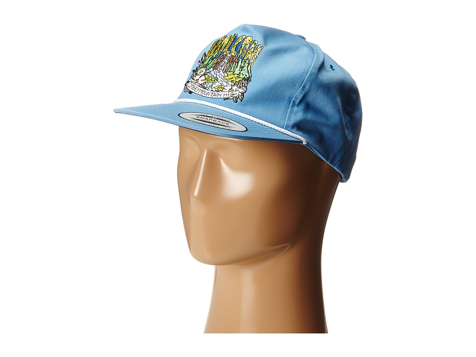 Volcom - Man Soda (False Blue) Baseball Caps