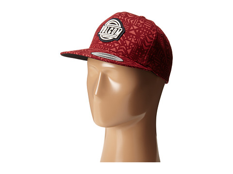Volcom - Shack (Drip Red) Baseball Caps