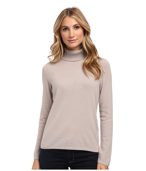 Pendleton - Cr me De Cashmere Turtleneck (Fawn) Women's Sweater