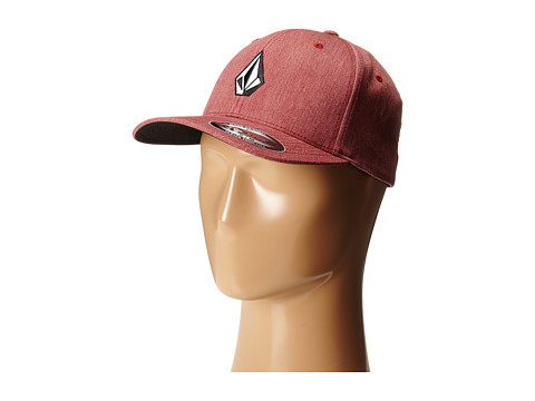 Volcom - Full Stone Heather (Crimson) Baseball Caps
