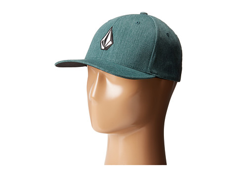 Volcom - Full Stone Heather (Grass Green) Baseball Caps