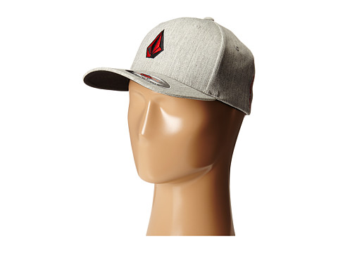 Volcom - Full Stone Heather (Heather Grey) Baseball Caps