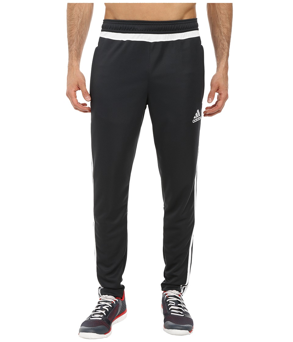 adidas - Tiro 15 Training Pant (Dark Grey/White/Dark Grey) Men's Workout