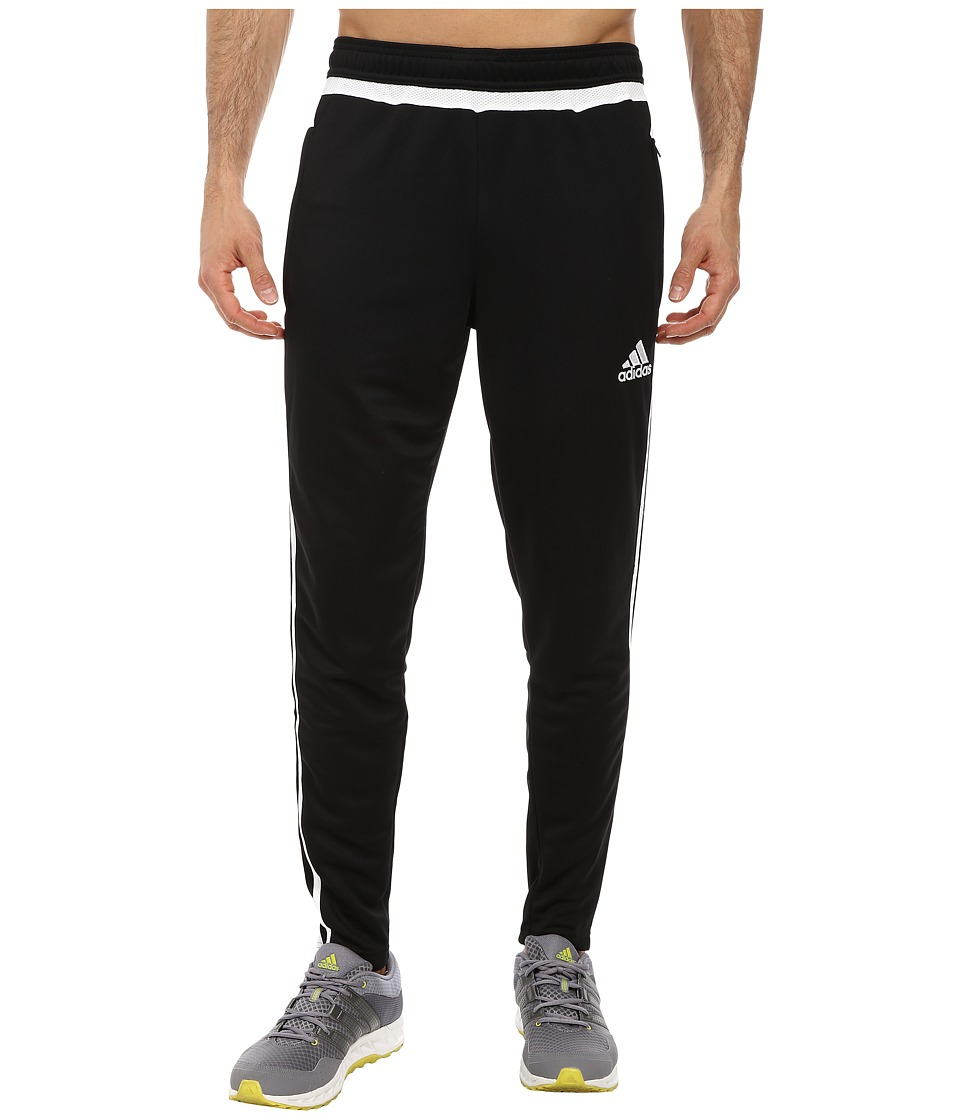 adidas - Tiro 15 Training Pant (Black/White/Black) Men's Workout