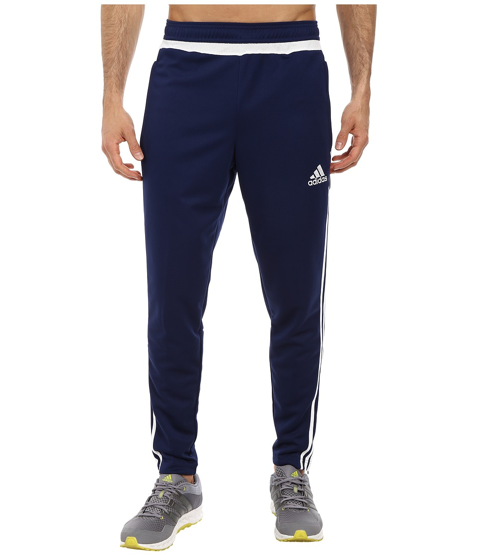 adidas - Tiro 15 Training Pant (Dark Blue/White/Dark Blue) Men's Workout