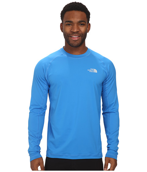 The North Face - L/S Class V Shirt (Clear Lake Blue) Men