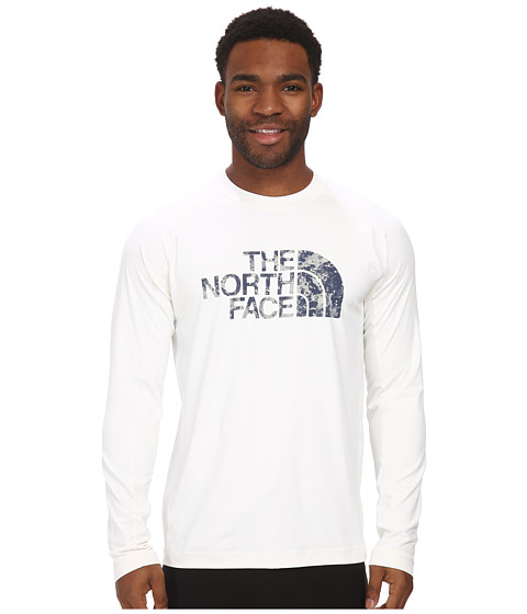 The North Face - L/S Class V Shirt (TNF White) Men's Long Sleeve Pullover