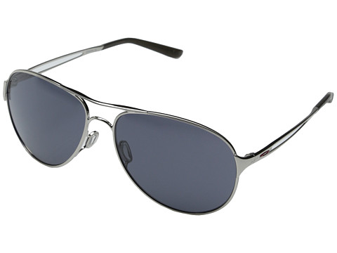 Oakley - Caveat (Polished Chrome/Grey) Fashion Sunglasses