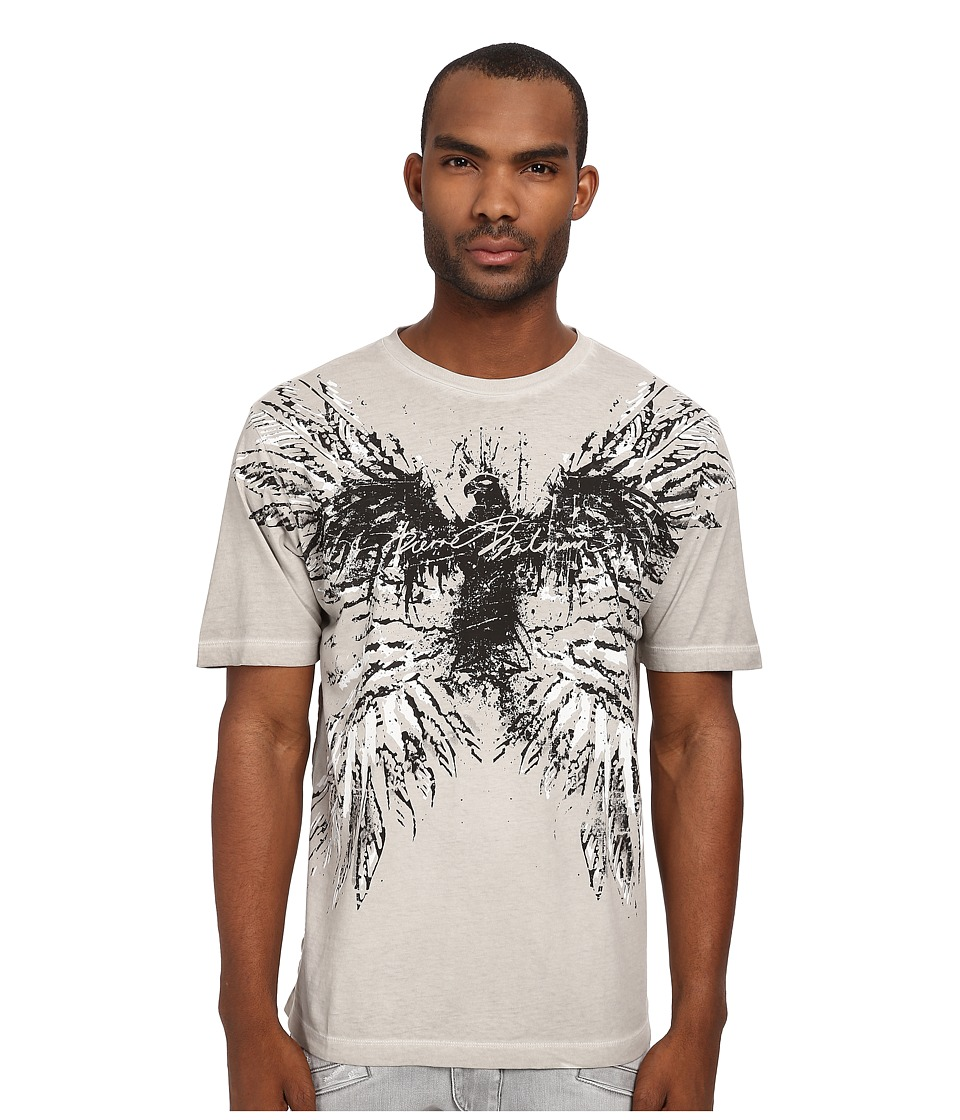 Pierre Balmain - Wings Graphic Tee (Light Grey) Men