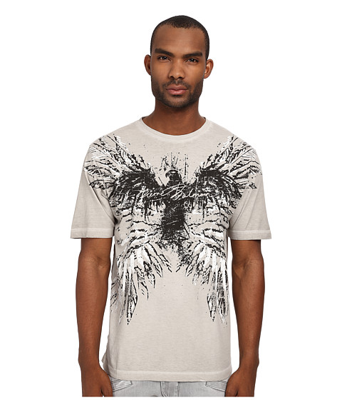 Pierre Balmain - Wings Graphic Tee (Light Grey) Men's T Shirt