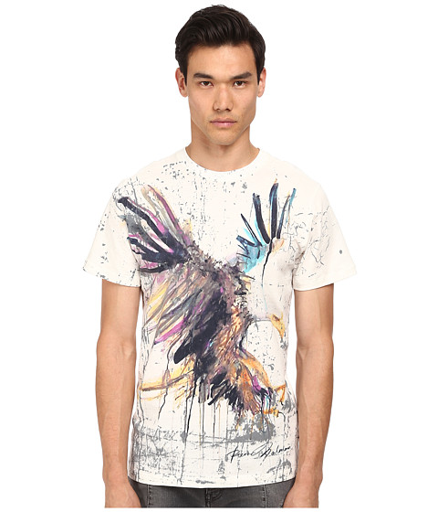 Pierre Balmain - Watercolor Eagle Tee (White) Men