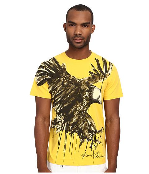 Pierre Balmain - Eagle Tee (Yellow) Men's T Shirt