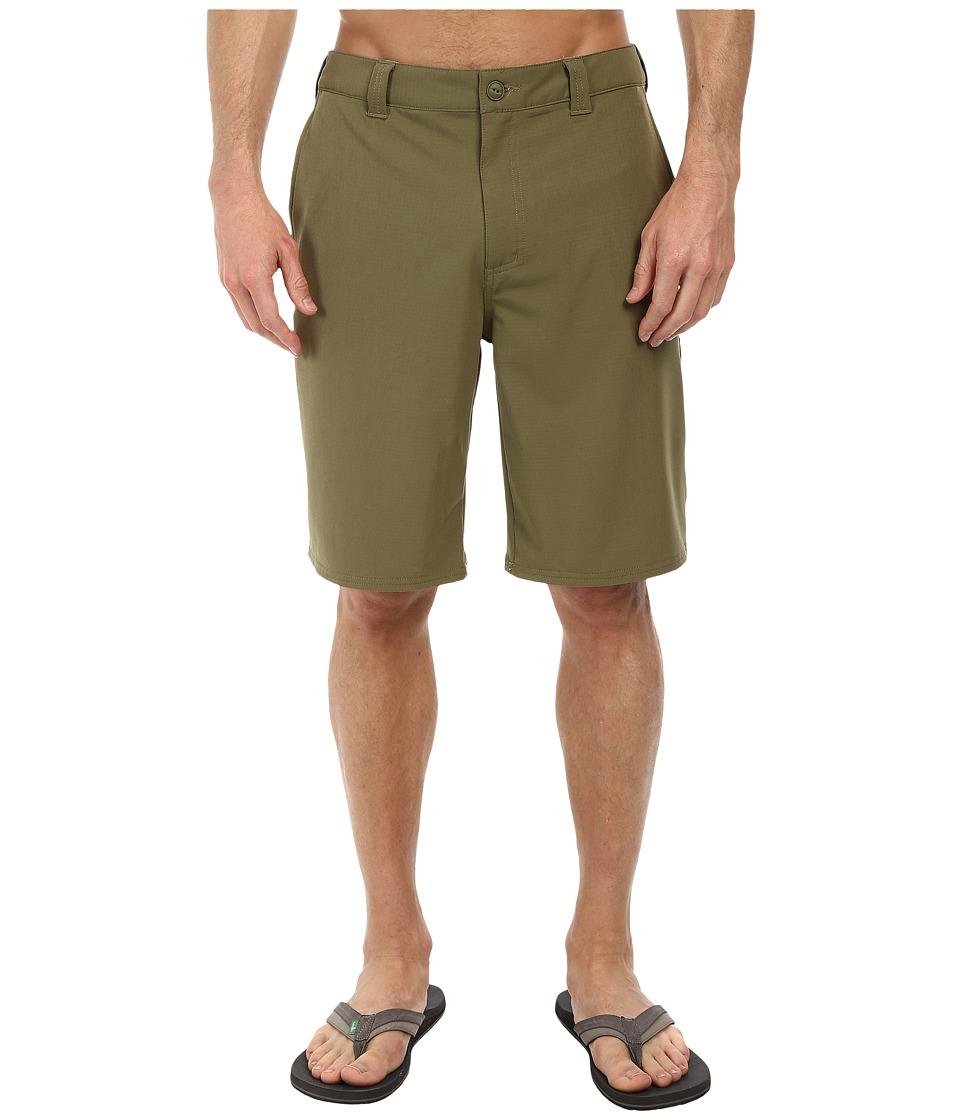 The North Face - Pure Vida Walk Short (Burnt Olive Green) Men's Shorts