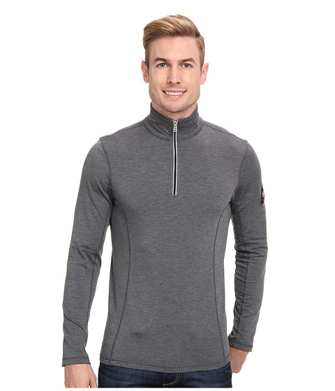 Bogner Fire + Ice - Berto (Dark Grey Melange) Men's Long Sleeve Pullover