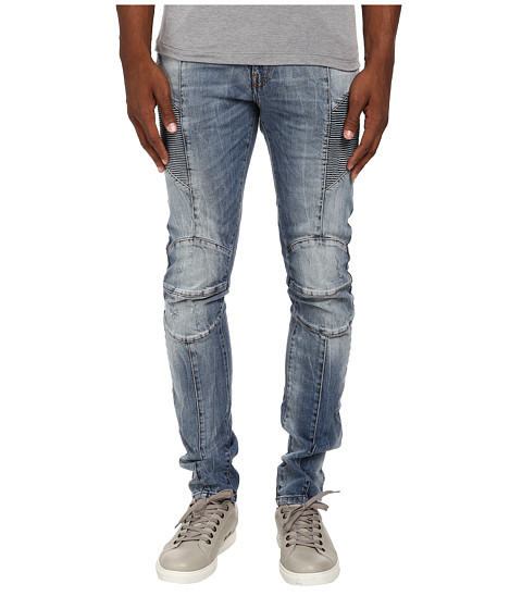 Pierre Balmain - Motor Stretch Denim (Blue) Men