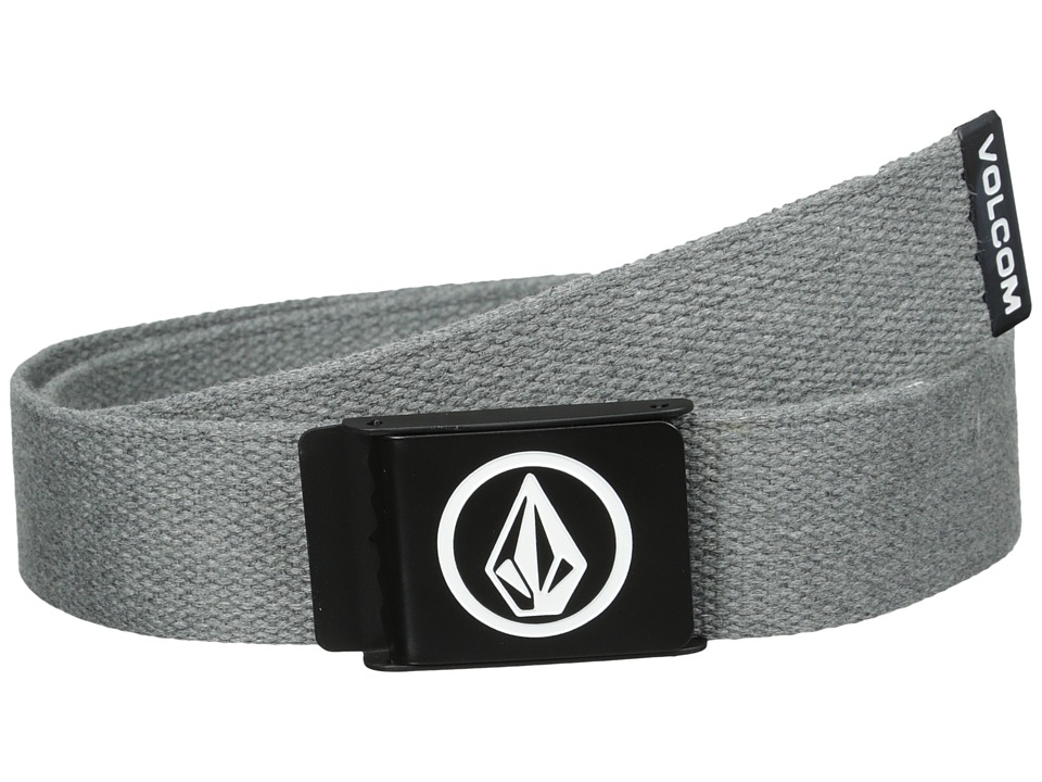Volcom - Circle Premium (Charcoal Heather) Men's Belts