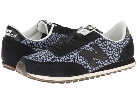 New Balance Classics - WL410 (Black) Women's Classic Shoes