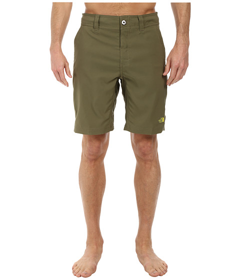 The North Face - Pacific Creek Boardshort (Burnt Olive Green) Men