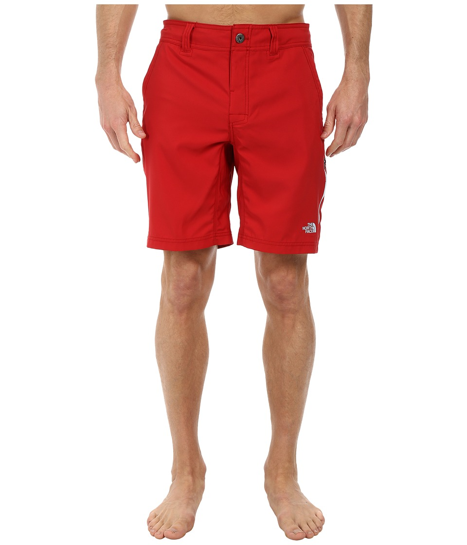 The North Face - Pacific Creek Boardshort (Rage Red) Men's Shorts