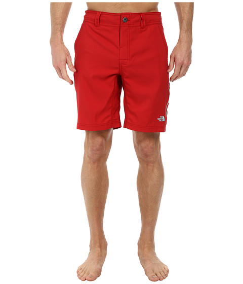 The North Face - Pacific Creek Boardshort (Rage Red) Men