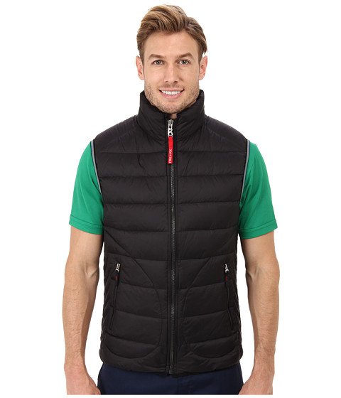 Bogner Fire + Ice - Matt-D Down Vest (Black) Men's Vest