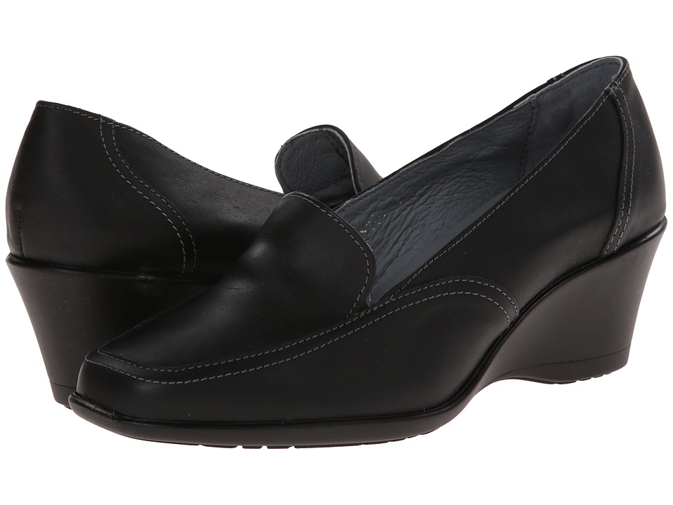 Fitzwell - Wendy (Black Leather) Women