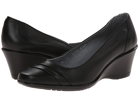 Fitzwell - Wanda (Black Leather) Women