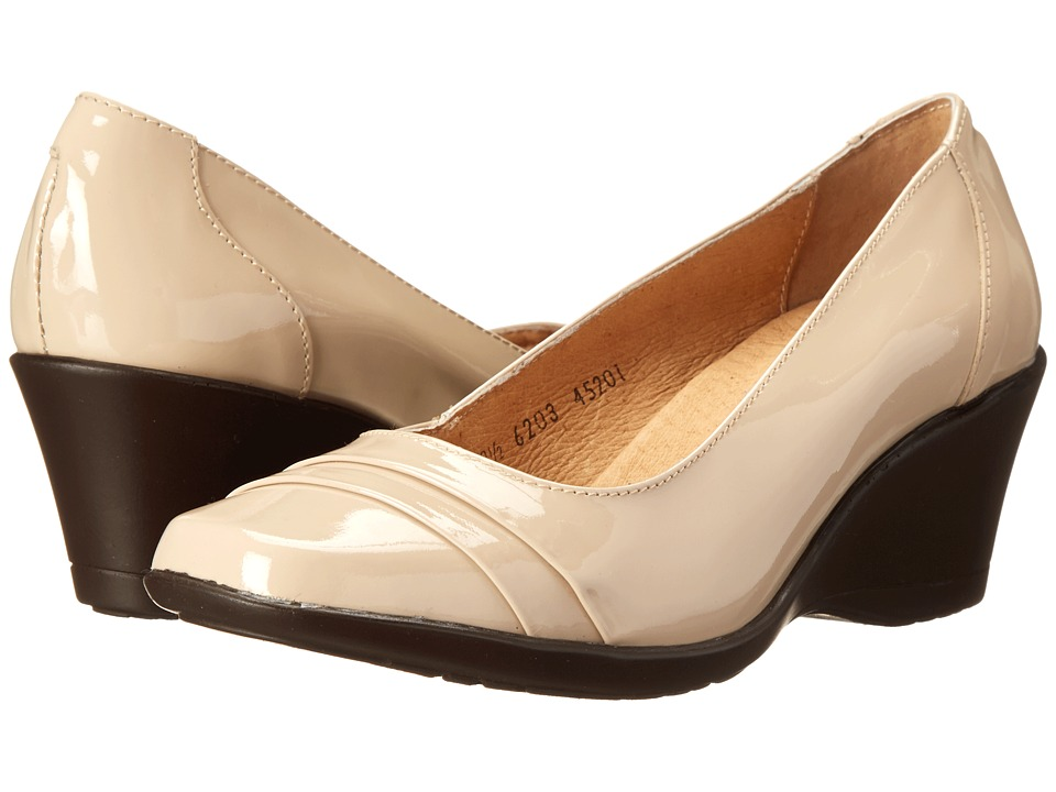 Fitzwell - Wanda (Nude Patent Leather) Women