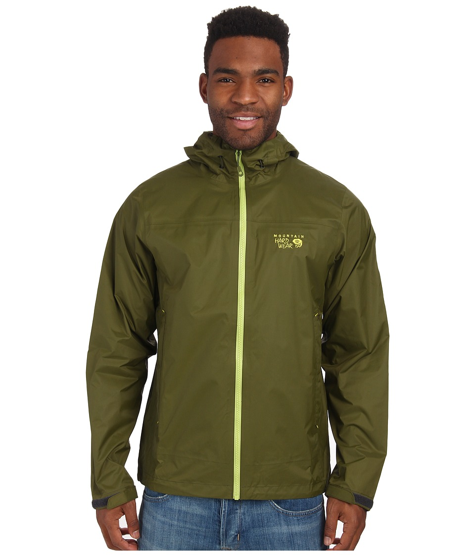Mountain Hardwear - Plasmic Ion Jacket (Utility Green) Men's Jacket