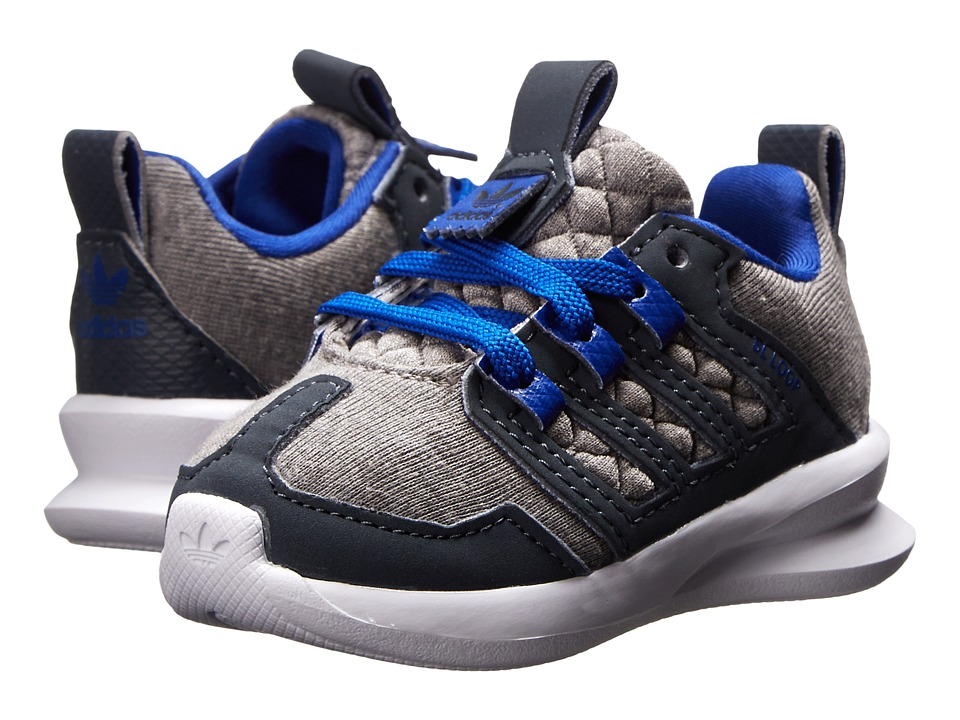 adidas Originals Kids - SL Loop Runner (Infant/Toddler) (Solid Grey/Night Flash/White) Boys Shoes