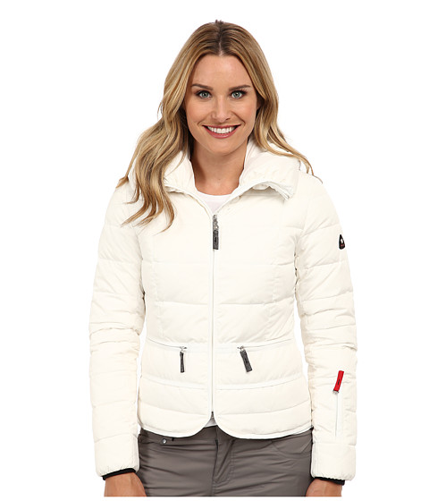 Bogner Fire + Ice - Inka-D (Off White) Women's Coat