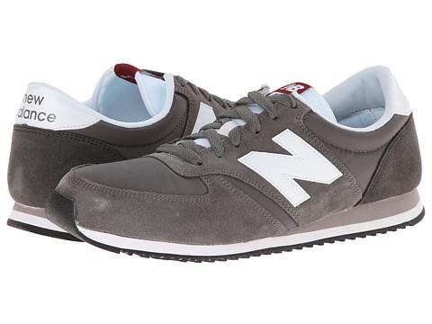 New Balance Classics - U420 (Grey/White) Men's Classic Shoes