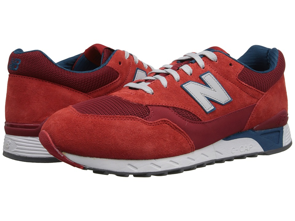 New Balance Classics - CM496 (Velocity Red) Men's Classic Shoes