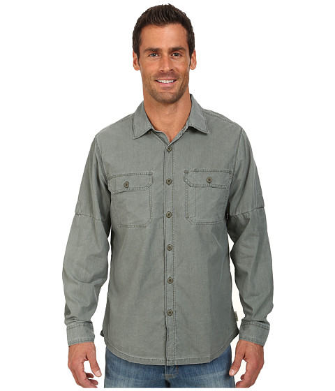 Woolrich - Windwood II Convertible L/S Shirt (Olive Drab) Men