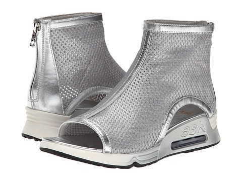 ASH - Lio (Silver/Marble/Silver Metallic Chambers/Sheep Metal) Women's Shoes