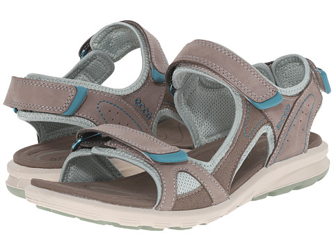 ECCO Sport - Cruise Catalina Sandal (Warm Grey/Ice Flower) Women's Shoes