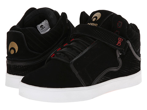 Osiris - Bingaman VLC (Black/Red/DPI) Men's Skate Shoes