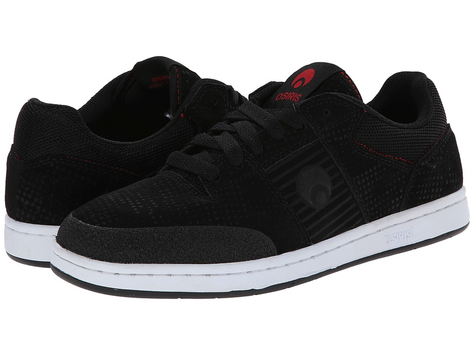 Osiris - Sleak (Black/Red/DPI) Men