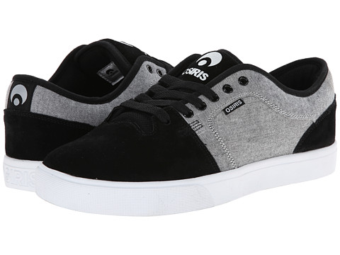 Osiris - Decay (Black/Oxford) Men's Skate Shoes