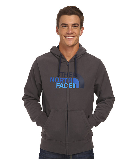 The North Face - Half Dome Full Zip Hoodie (Graphite Grey/Cosmic Blue Gradient) Men's Sweatshirt