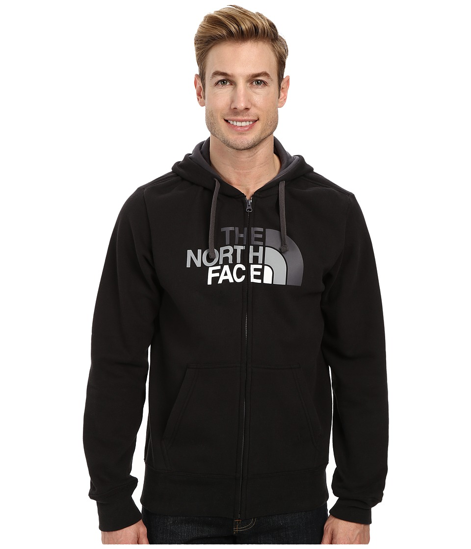 The North Face - Half Dome Full Zip Hoodie (TNF Black Graphite/Grey Gradient) Men's Sweatshirt
