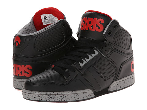 Osiris - NYC83 (Black/Red/Grey) Men