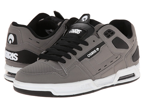 Osiris - Peril (Grey/Black) Men's Skate Shoes