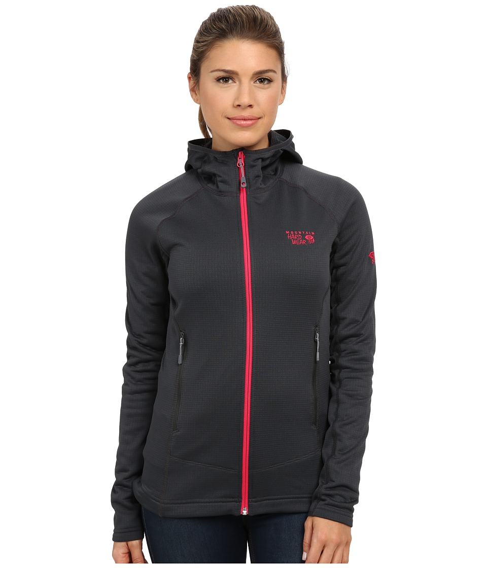 Mountain Hardwear - Desna Grid Hooded Jacket (Shark) Women's Jacket